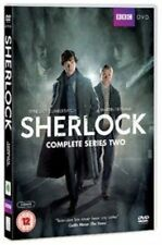 Sherlock - Series 2 [DVD], Good DVD, Mark Gatiss, Martin Freeman, Benedict Cumbe
