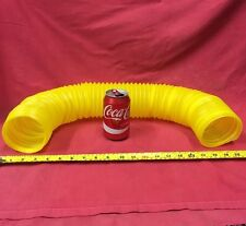 Yellow Twist Bendable tunnel Stretchable Tough Tube Ferrets Rat Hamsters 18-75cm