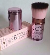 Too Faced Retractable Bronze-Buki Brush NIB