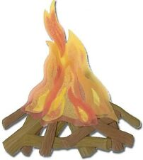 Jolee's By You CAMP FIRE Stickers OUTDOORS CAMPING