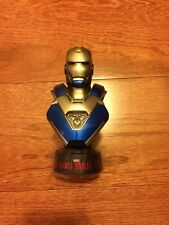 1/6 Hot Toys Iron Man 3 Mark XXX Blue Steel Collectible Figure Bust Rare
