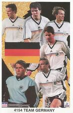 GERMAN NATIONAL TEAM COLLAGE Original Starline Poster MINI Promo Piece 3x5