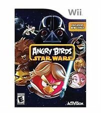NINTENDO WII GAME ANGRY BIRDS STAR WARS BRAND NEW & SEALED, FREE SHIPPING