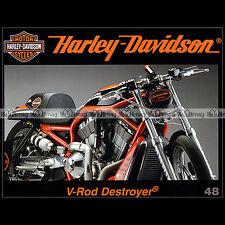 HARLEY-DAVIDSON N°48 ★ 1300 V-ROD DESTROYER ★ HULSTER 8 VALVE STELLAN EGELAND ★