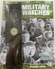 EAGLEMOSS MILITARY WATCHES. RUSSIAN AIRMAN 1950's ISSUE 16. UNOPENED / MINT