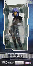 Ghost in the Shell S.A.C. 2nd GIG NEW in Box! Motoko Kusanagi VICE Statue Figure