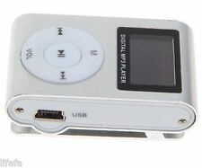 16 GB Hot Mini MP3 WAV Music Media Player USB Support Micro SD Card Clip
