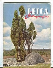 Leica Fotografie Magazine September/October 1950 Frankfurt VGEX 033017lej