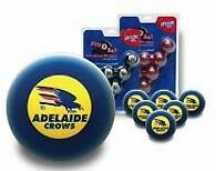 OFFICIAL AFL ADELAIDE CROWS TEAM POOLS BALLS -SPECIAL!!