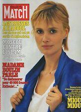 paris match n°1599 / miou miou boulin islam   / 1980