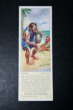 CALIBAN    Shakespeare   The Tempest   1930's Vintage Card