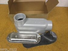 "EGS Electrical Group APP LB150-A Form 85 Aluminum Conduit Body 1-1/2"" New"