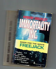 ROBERT SHECKLEY  pb Immortality, Inc. FREEJACK tie in Sheckly