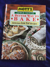 A BETTER WAY TO BAKE COOKBOOK BAKING WITH APPLESAUCE MMM MMM GOOD EASY FAST