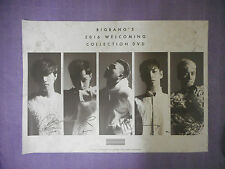 K-POP BIGBANG 2016 WELCOMING COLLECTION DVD [Limited Edition] Poster NEW