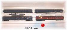 """Märklin 43918 Schnellzugwagen-Set als F-Zug 4 """"Merkur"""" 4-teilig#NEU in OVP#"""