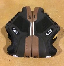 DVS Durham Size 9 Black Gum Leather Militia Havoc Transom BMX DC Skate Shoes