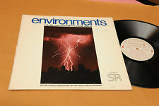LP ENVIRONMENTS 4 ULTIMATE THUNDERSTORM ORIG 1974 EX