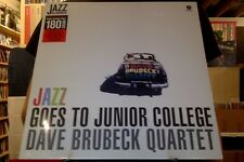 Dave Brubeck Quartet Jazz Goes to Junior College LP sealed 180 gm vinyl reissue