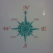 Compass Sticker, Decal Campervan,Motorhomes, 4x4, Off Road Navigation,Boat VAN
