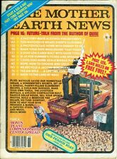 1981 Mother Earth News Magazine #69: Truck Powered by Wood/Alcohol-Fueled Chevy