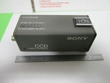 MICROSCOPE INSPECTION VIDEO CAMERA CCD SONY SSC-D5 OPTICS AS IS BIN#N5-01
