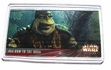 Star Wars Topps trading Widevision card TPM E 1 series one 00 chase promo 215