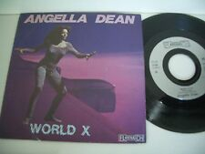 ANGELLA DEAN 45T WORLD X/HOW AND FOR EVER. FLARENASCH 721.625.