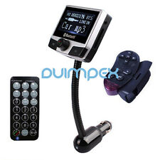"E07 8112B 2.4"" LCD Auto KFZ MP3 Player FM Transmitter USB Stick SD Bluetooth AUX"