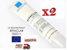 2x La Roche-Posay Effaclar Duo(+) Acne, Severe Skin Imperfections, Spots 2x40ml