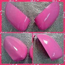 Fiat 500 & Punto PINK Also available CHROME Mirror Covers Car Parts!Many Colours
