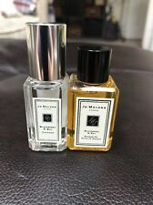 Jo Malone Blackberry & Bay Cologne Shower Oil sample sprays New 9 ml lot Travel