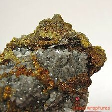 Stunning Chalcopyrite After Galena From Sweet Water Mine