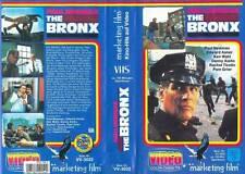 PAUL NEWMAN The Bronx (Deutsch) VHS 1981 KEN WAHL Pam Grier DANNY AIELLO