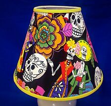 Day of the Dead Wedding Handmade Lampshade Skulls Lamp Shade