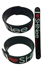 SHINEE NEW! Rubber Bracelet Wristband Free Shipping! aa54 Black Why So Serious?