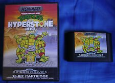 TEENAGE MUTANT HERO TURTLES: THE HYPERSTONE HEIST - MEGA DRIVE - PAL ESPAÑA