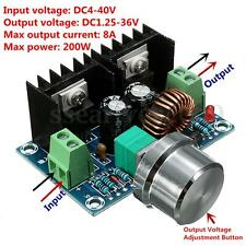 200W 8A DC-DC 4V-40V 1.25V-36V Buck Converter Step-Down Voltage Power Module