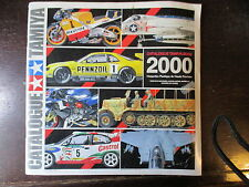 CATALOGUE DE 94 PAGES TAMIYA 2000  FORMAT 25 X 25 cm GAMMES COMPLETES