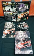 Driver: Parallel Lines PlayStation 2 PS2 Complete CIB  w/ Bonus Discs Tested