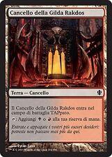 4x Cancello della Gilda Rakdos - Guildgate MTG MAGIC C13 Commander 2013 Ita