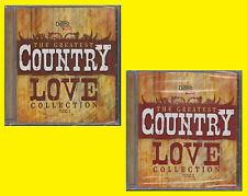 Reader's Digest GREATEST COUNTRY LOVE COLLECTION Various Artists NEW 1&2 CD Lot