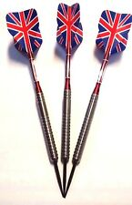 Tungsten Darts set 24g (with free Aluminium shafts and Union Jack flights)