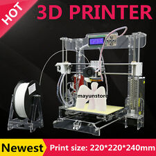 3D Printer - Acrylic frame- Factory Direct Lowest Price- Reprap Prusa i3 DIY USA
