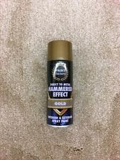 HAMMERED SPRAY PAINT DIRECT TO METAL HAMMER EFFECT INTERIOR & EXTERIOR CAN 400ML