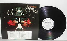JUDAS PRIEST Hell Bent For Leather LP Vinyl White Label Rob Halford Heavy Metal