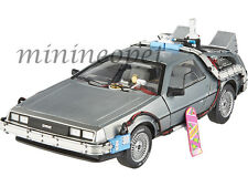 ELITE BCJ97 BACK TO THE FUTURE TIME MACHINES DMC DELOREAN 1/18 with MR FUSION