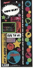 Moxxie - It's Your Day Scrapbooking Stickers - Birthday YD-2102