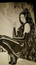 X-23 Original comic art drawing sketch  Marc Holanda