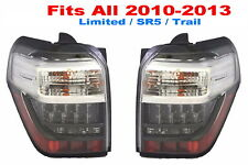 TOYOTA 4RUNNER 2010 2011 2012 2013 LED TAILLIGHTS REAR NEW PAIR - Fit ALL Models